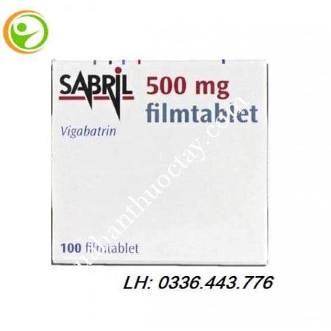 Thuốc chống co giật Sabril 500mg