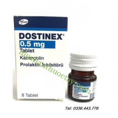 Thuốc Dostinex 0.5mg ( Hàng Thổ)