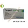 Thuốc cai rượu Esperal 500 mg