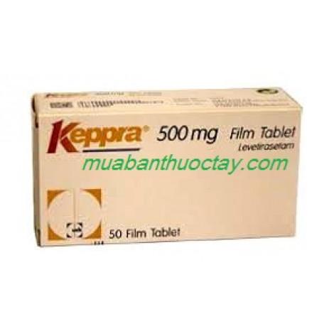 Thuốc động kinh Keppra 500 mg