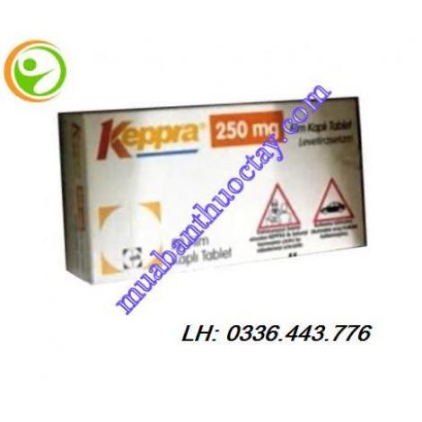 Thuốc Keppra 250mg hộp 50 viên