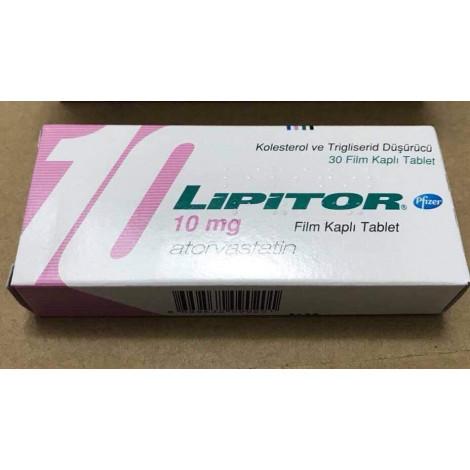 Thuốc trị giảm mỡ máu Lipitor 10mg
