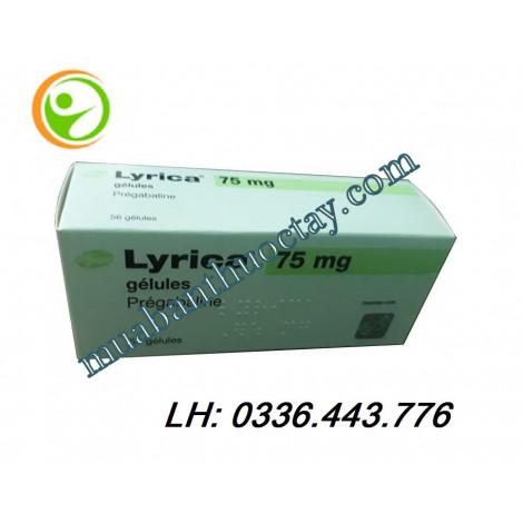 Thuốc trị động kinh Lyrica 75mg hàng pháp