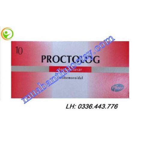 Thuốc đặt trĩ Proctolog