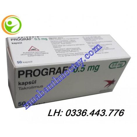 Thuốc Prograf 0.5 mg