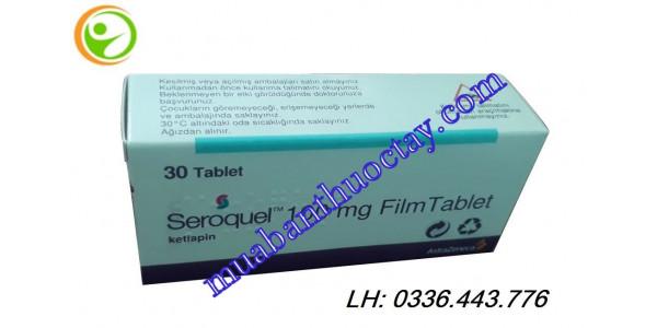 Thuốc Seroquel 100mg