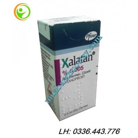 Thuốc nhỏ mắt  Xalatan 50 microgam / ml