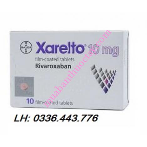 Thuốc kháng đông Xarelto 10mg