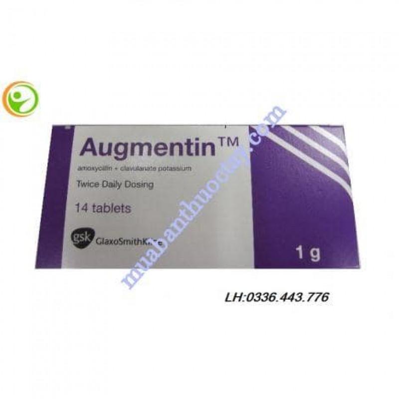 Augmentin ( amoxicil...