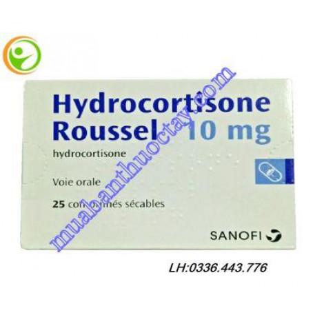 Thuốc kháng viêm Hydrocortisone Roussel 10mg