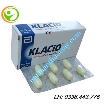 Thuốc kháng viêm Klacid 500mg