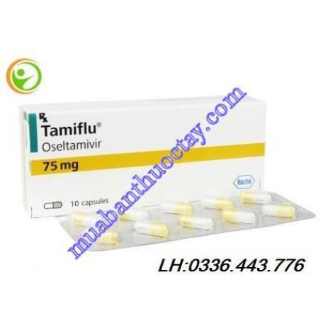 Thuốc trị cảm cúm Tamiflu 75 mg