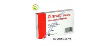 Thuốc kháng sinh Zinna...