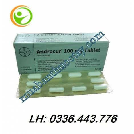 Thuốc ức chế nội tiết tố nam Androcur® 100mg