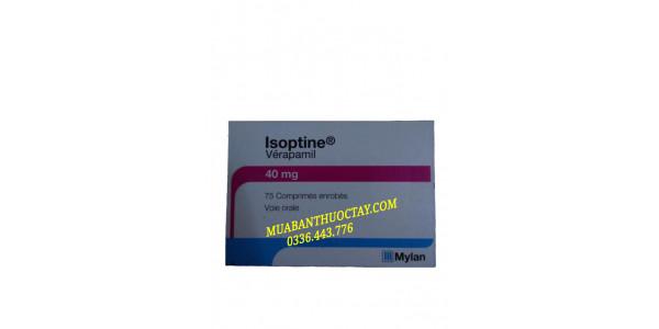 Isoptine 40mg thuốc tr�...