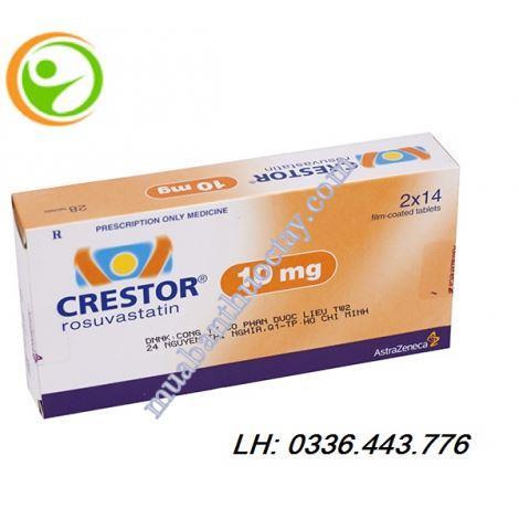 Thuốc tim mạch Crestor 10mg