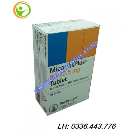 Thuốc MicardisPlus  80mg/12,5mg