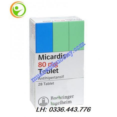 Thuốc Micardis 80mg hộp 28 viên