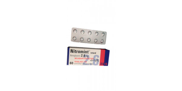 Nitromint 2.6mg thuốc t...
