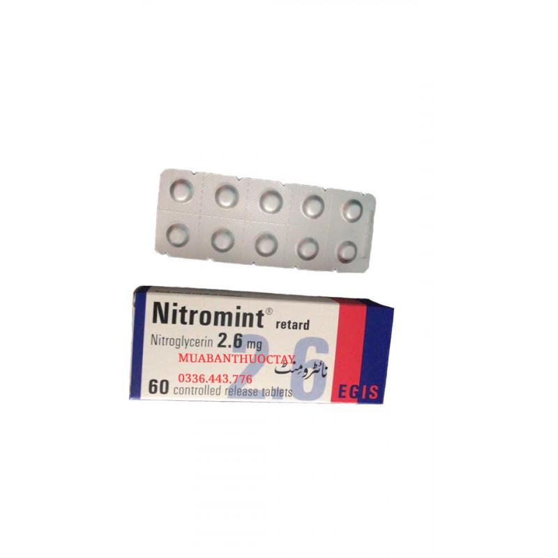 Nitromint 2.6mg thu�...