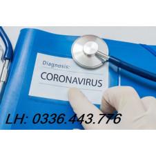 Mô hình nghiên cứu ước tính lây lan của coronavirus