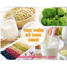 Một số thực phẩm cần thiết cho bệnh loãng xương