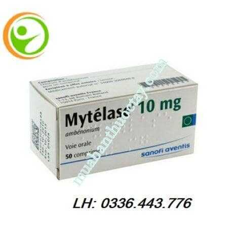 Thuốc nhược cơ Mytelase 10mg