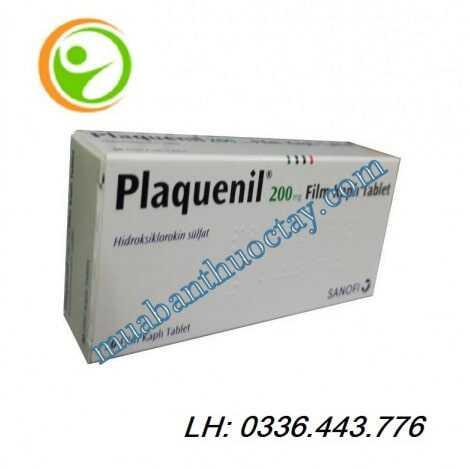 Thuốc plaquenil® 200mg hàng thổ loại 30 viên
