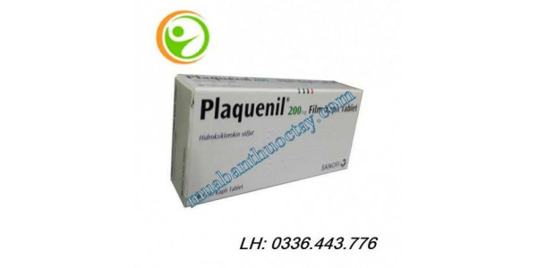 Thuốc plaquenil® 200mg...