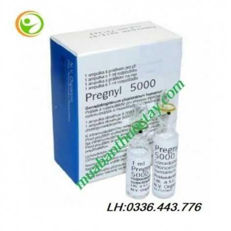 Pregnyl 5000 IU Thuốc tiêm kích trứng