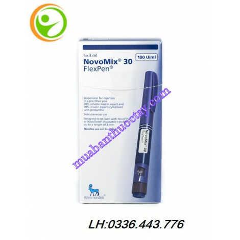 Thuốc tiêm NovoMix® 30 FlexPen trị bệnh tiểu đường
