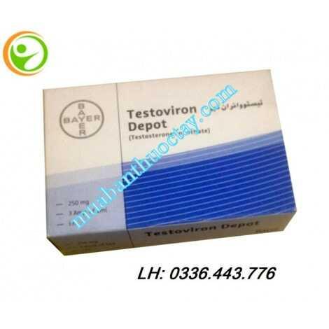Thuốc tiêm Testoviron Depot 250 mg bổ sung testosterone