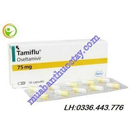 Thuốc trị cảm cúm Tamiflu® 75 mg