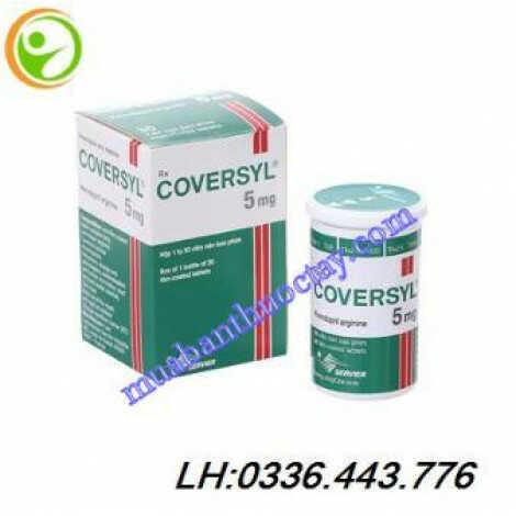 Thuốc trị cao huyết áp Coversyl 5 mg