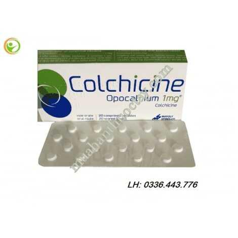 Thuốc trị gout Colchicine 1mg