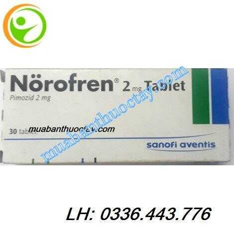 Thuốc trị loạn thần norofren® 2mg