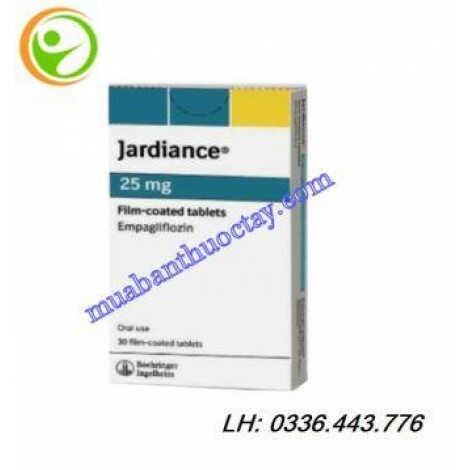 Thuốc tiểu đường Jardiance 25mg