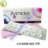 Thuốc ung thư vú Arimidex 1mg