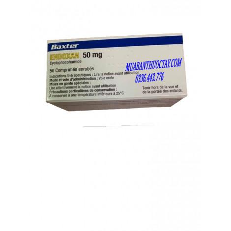 Endoxan 50mg thuốc điều trị ung thư