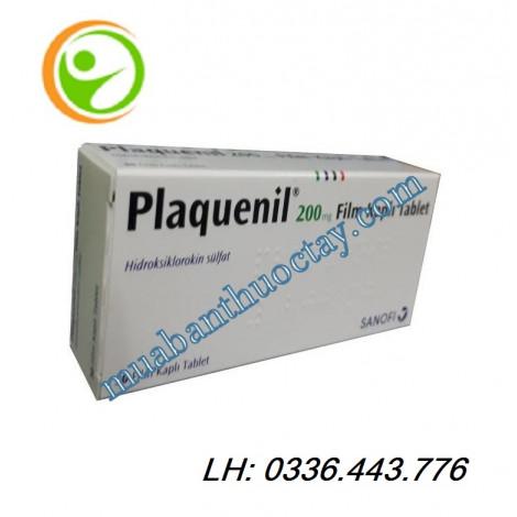 Thuốc plaquenil 200mg hàng thổ loại 30 viên